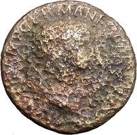AGRIPPINA Senior SESTERTIUS under CLAUDIUS 50AD Ancient Roman Coin Rare i49134