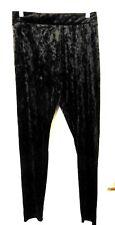 Mossimo Supply Co. Super Soft Velour Leggings Skinny Stretch Pants-XXL, black