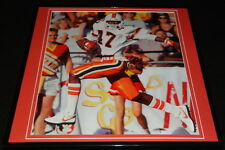 Michael Irvin Framed 12x12 Poster Photo Miami Hurricanes The Playmaker