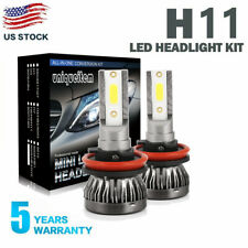 H11 LED Headlight 6000K 2019 1500W 225000LM Kit Low Beam MINI Bulbs High Power
