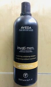 NEW 🌿 AVEDA Invati Mens Exfoliating Shampoo - Thinning Hair 1 Liter / 33.8 oz