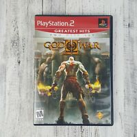 God of War II: 2 Disc Set - Playstation 2 PS2 Game - Complete