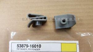 TOYOTA OEM 91-98 Tercel-Fender Liner Retainer 5387916010 SET OF 2