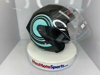 Shield Motorcycle Helmets on SALE DOT approved. Size S,M,XL  Ballon Blue