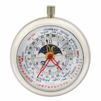 Louis Vuitton Complications 18K White Gold World Time Quartz Watch 2444074
