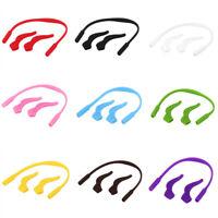 Kids Child Glasses Silicone Head Band Strap Sports Glasses Cord + Hook Holder