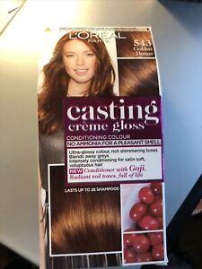 L'Oreal Casting Creme Gloss Demi Permanent Colour Hair Dye - 543 Golden Henna