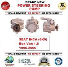 *** Brand New *** POWER STEERING PUMP for SEAT INCA (6K9) Box Van 1.6 1995-2000