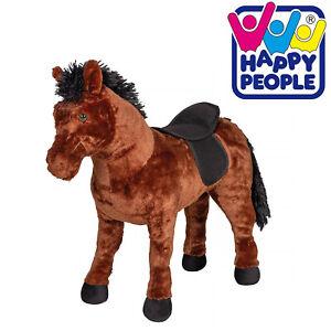 Happy People Pferd Sound Schaukelpferd Plüsch Pony Stute Stehpferd Spielzeug