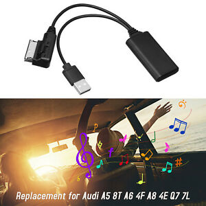 Stereo AMI MMI2G Bluetooth Adapter Aux Cable Audio Radio for Audi A4 A5 A6 A8 Q7