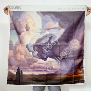 The Killers Band Banner Imploding The Mirage Cover Tapestry Flag Poster 4x4 ft