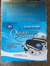 Quest Nutrition Quest PrePost Workout Bars - Cookies and Cream 12 bars