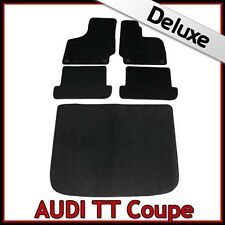 AUDI TT Coupe Mk2 2006-2014 a medida Lux 1300g Alfombra Coche Alfombrillas De Arranque & Negro