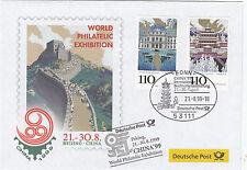 Messebrief 1999 World Philatelic Exhibition Beijing -China