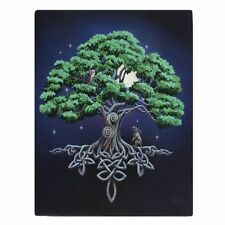 TREE OF LIFE Canvas Wall Art Plaque LISA PARKER  wicca fantasy