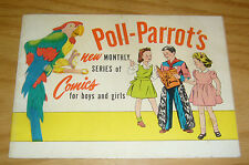 Boys' and Girls' March of Comics #79 VG poll parrot's variant 1952 andy panda