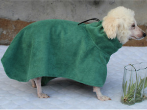 Super Absorbent, Quick Drying, Microfiber towel, Dog Bath Robe 1pc/pack