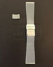 Breitling 22mm Stainless Steel Mesh Bracelet 154A - 100% Authentic OEM