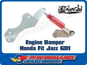 TAKASHI ENGINE TORQUE DAMPER HONDA FIT HONDA JAZZ GD1 PERFORMANCE DRIFT