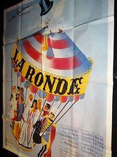 LA RONDE ! max ophuls affiche cinema
