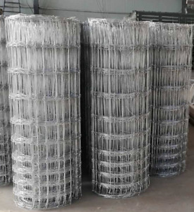 Stock Fencing M8/100/15 M10/120/15 Sheep Pig Livestock Fence Field Fencing 50m