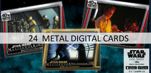 Topps Star Wars Card Trader Masterwork Empire Strikes 40th Anniversary 24 Metal