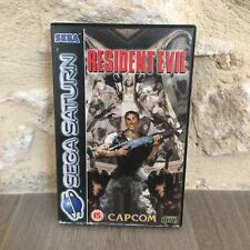 Resident Evil Sega Saturn PAL Fr Tested