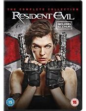 Resident Evil - The Complete Collection NEW DVD REGION 2