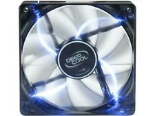 DEEPCOOL WIND BLADE 120 Hydro Bearing Semi-transparent Black Fan with Blue LED