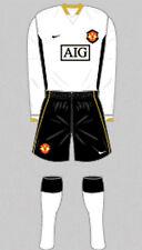 Pantaloncini da Uomo Maglietta Da Calcio Calze Kit-Manchester United-AWAY 2006-08 - Nike