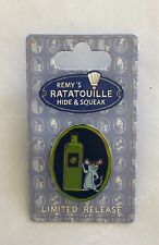 NIB Authentic Disney Parks Ratatouille Remy's Hide and Squeak 2015 Olive Oil Pin