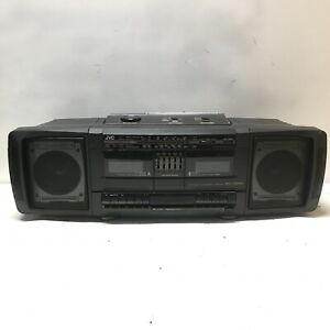 Vintage JVC Portable Component System PC-W100 Boombox Tested Used