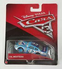 CARS 3 - CAL WEATHERS racer DINOCO TEAM -  Mattel Disney Pixar
