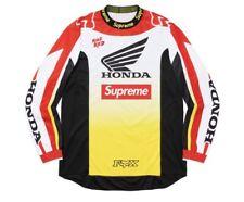 Supreme®/Honda®/Fox® Racing Moto Jersey Top Style: Red Size: Medium