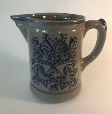 Beaumont Brothers Pottery 1993 Heart Pitcher 40 Ounce