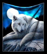 Câlin Couverture avec loup - Gardien de la North - Par Lisa Parker Gothique