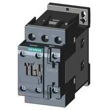 Siemens 3rt20251ak60 Iec Magnetic Contactor 3 Poles 110120v Ac 16 A