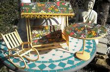 mobilier pour poupée tressy bella mily gégé caprice