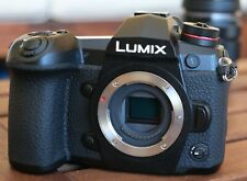 Panasonic LUMIX DC-G9 + Extras (Excellent Condition, low shutter count)