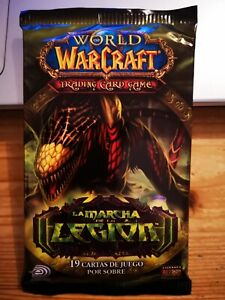 World of Warcraft WOW tcg booster de 19 cartes Upper Deck 2007 version Espagnol