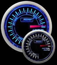 Prosport 52mm Super Smoked Blue / White Air Fuel Ratio Gauge