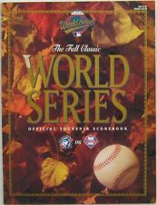 1993 World Series Program Phillies vs Toronto