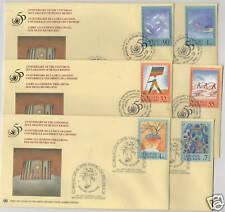1998 Diritti dell'uomo - ONU 3 uffici - FDC