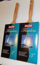 "2 pack of Wooster Brushes M5205-3 Flawless Paint brush 3"" marine paints/primers"