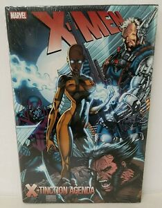X-Men X-Tinction Agenda Marvel Comics Hardcover New Sealed Lee Chris Claremont