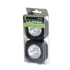 Ultra Performance 2 Pack LED Puck Lights Self-Adhesive 20 Lumen w/ Batteries NEW