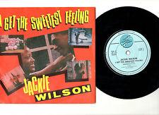 """SOUL.JACKIE WILSON.SWEETEST FEELING / LONELY TEARDROPS.UK RE-ISS 7"""" & PIC/SL.EX+"""