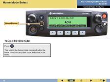Motorola Xtl2500 M5 Control Head With Chib Hln6911h Hln6912b With Warranty