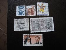 ALLEMAGNE (rfa) - timbre yvert et tellier n° 1179 a 1184 obl (A3)stamp germany