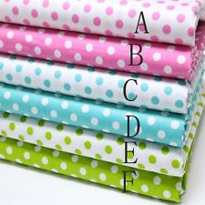 50CM*50CM Polka Dot(0.8cm)100%cotton fabric Quilting Clothes Bedding Sewing 02